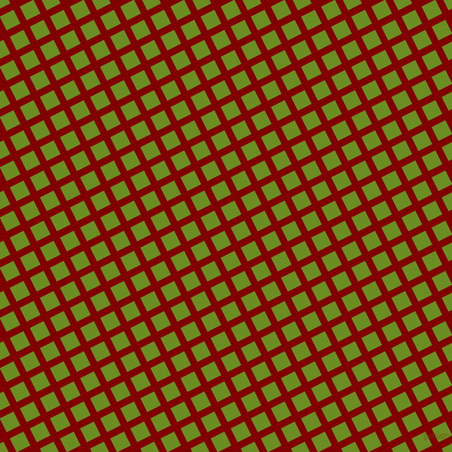 27/117 degree angle diagonal checkered chequered lines, 10 pixel line width, 22 pixel square size, Maroon and Olive Drab plaid checkered seamless tileable
