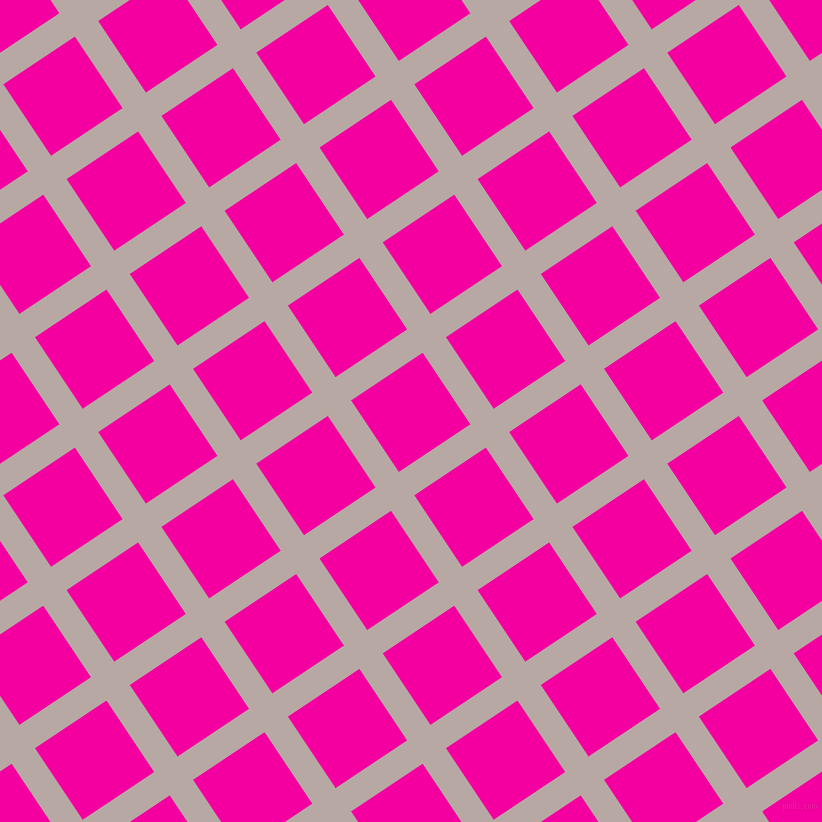 34/124 degree angle diagonal checkered chequered lines, 28 pixel line width, 86 pixel square size, Martini and Hollywood Cerise plaid checkered seamless tileable