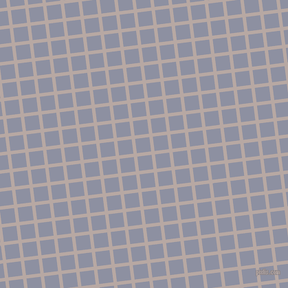 7/97 degree angle diagonal checkered chequered lines, 5 pixel lines width, 21 pixel square size, Martini and Manatee plaid checkered seamless tileable