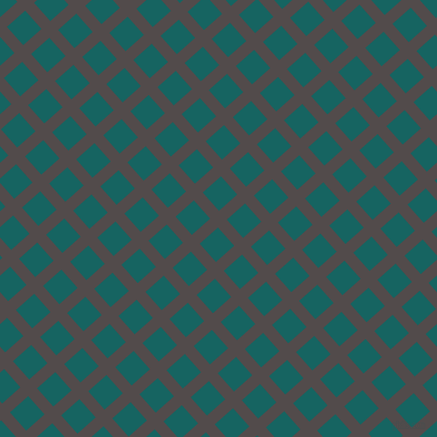 42/132 degree angle diagonal checkered chequered lines, 13 pixel lines width, 27 pixel square size, Matterhorn and Blue Stone plaid checkered seamless tileable