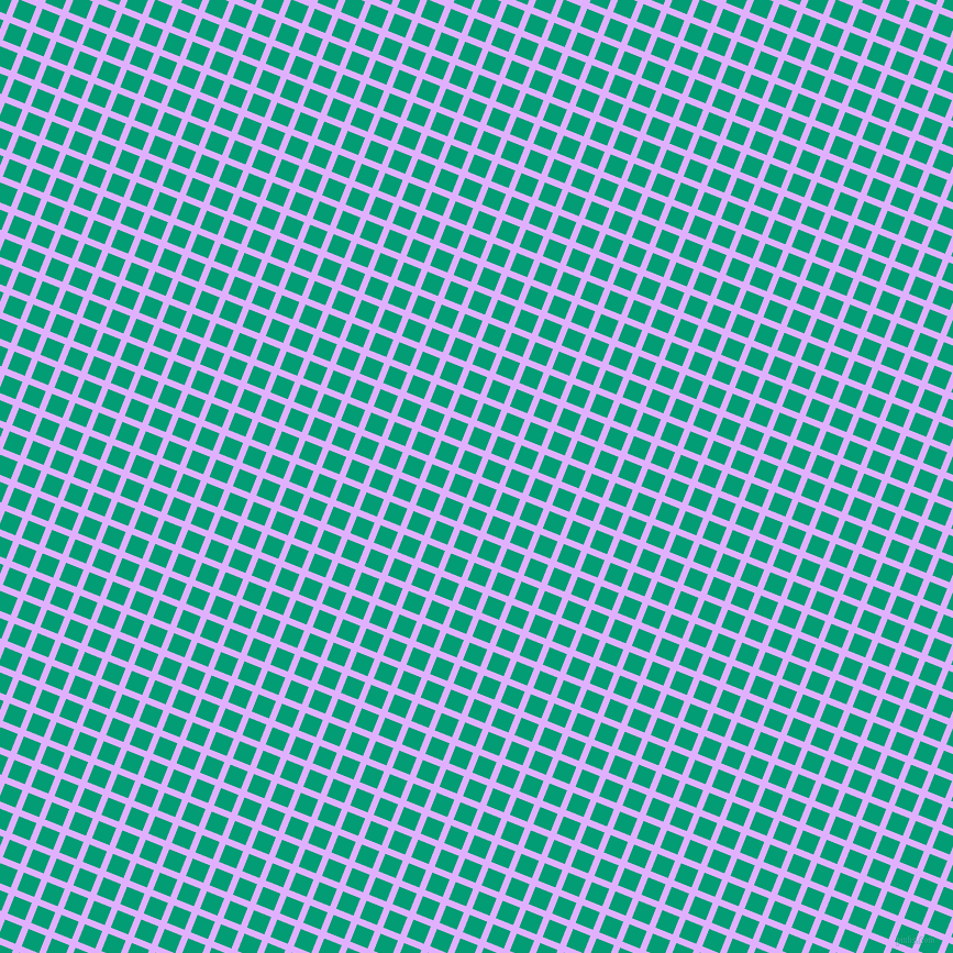 68/158 degree angle diagonal checkered chequered lines, 6 pixel lines width, 17 pixel square size, Mauve and Free Speech Aquamarine plaid checkered seamless tileable