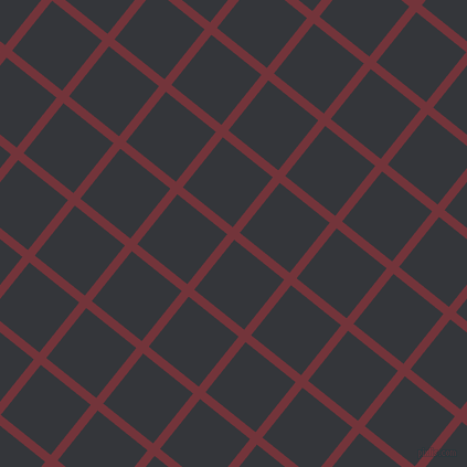 51/141 degree angle diagonal checkered chequered lines, 8 pixel lines width, 58 pixel square size, Merlot and Shark plaid checkered seamless tileable