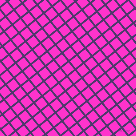 39/129 degree angle diagonal checkered chequered lines, 6 pixel lines width, 29 pixel square size, Meteorite and Razzle Dazzle Rose plaid checkered seamless tileable