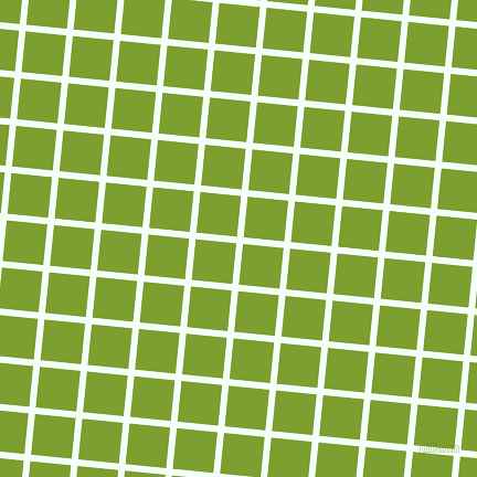 84/174 degree angle diagonal checkered chequered lines, 6 pixel line width, 37 pixel square size, Mint Cream and Sushi plaid checkered seamless tileable