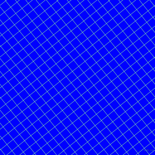 39/129 degree angle diagonal checkered chequered lines, 1 pixel line width, 27 pixel square size, Mint Green and Blue plaid checkered seamless tileable