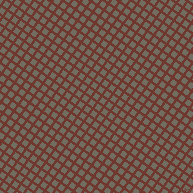 55/145 degree angle diagonal checkered chequered lines, 8 pixel lines width, 18 pixel square size, Mocha and Flint plaid checkered seamless tileable