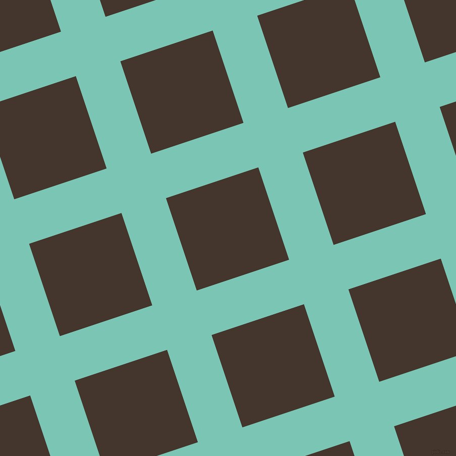 18/108 degree angle diagonal checkered chequered lines, 93 pixel line width, 193 pixel square size, Monte Carlo and Tobago plaid checkered seamless tileable