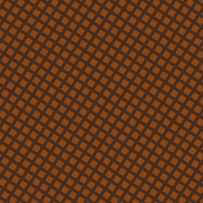 56/146 degree angle diagonal checkered chequered lines, 10 pixel line width, 20 pixel square sizeMorocco Brown and Saddle Brown plaid checkered seamless tileable