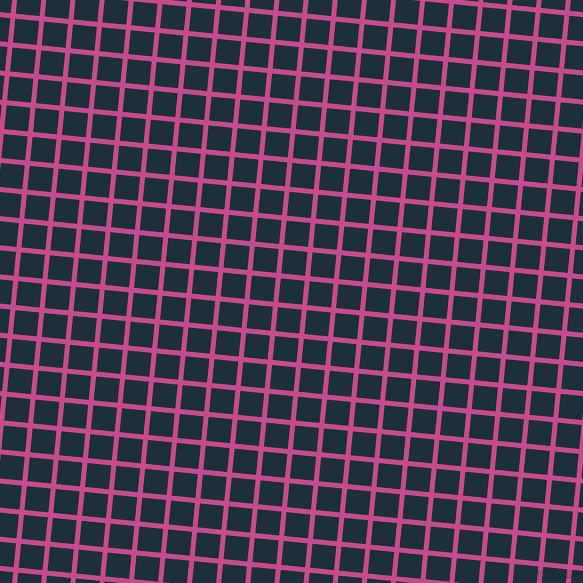 84/174 degree angle diagonal checkered chequered lines, 5 pixel lines width, 24 pixel square size, Mulberry and Tangaroa plaid checkered seamless tileable