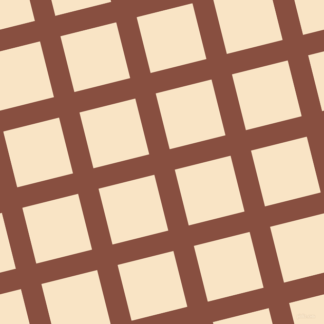 14/104 degree angle diagonal checkered chequered lines, 41 pixel lines width, 112 pixel square size, Mule Fawn and Egg Sour plaid checkered seamless tileable