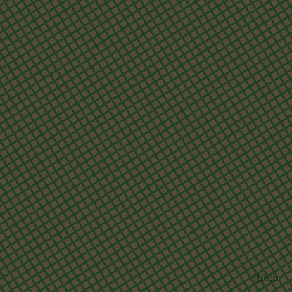 32/122 degree angle diagonal checkered chequered lines, 3 pixel line width, 8 pixel square size, Myrtle and Metallic Bronze plaid checkered seamless tileable
