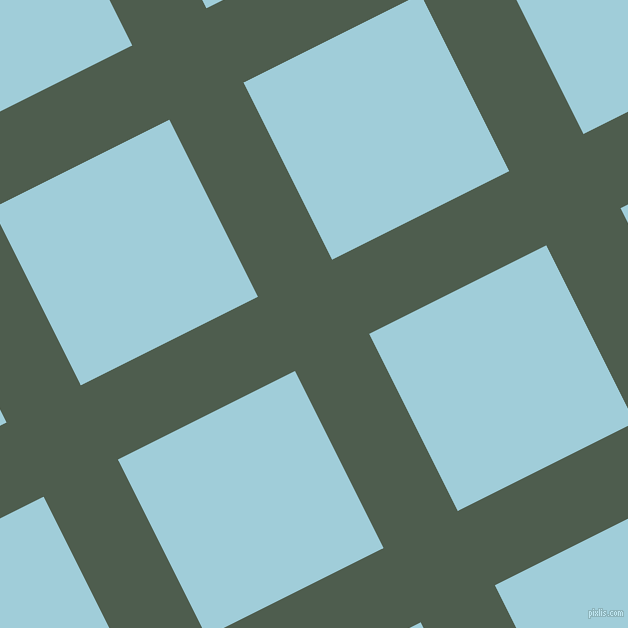 27/117 degree angle diagonal checkered chequered lines, 83 pixel lines width, 198 pixel square size, Nandor and Regent St Blue plaid checkered seamless tileable