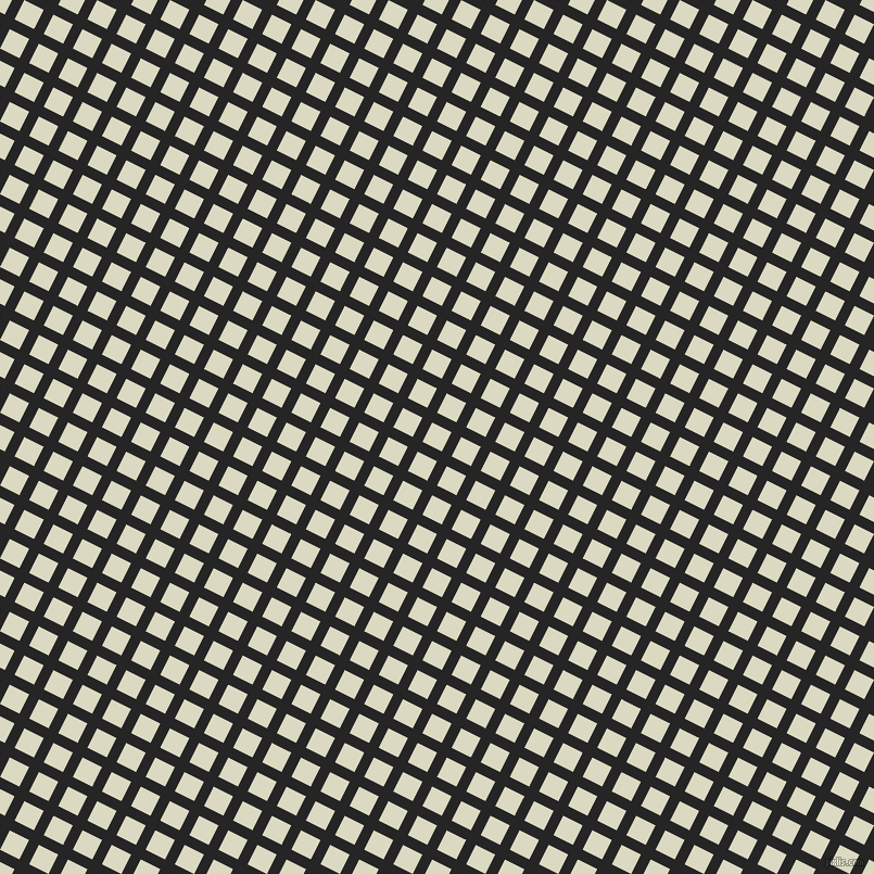 63/153 degree angle diagonal checkered chequered lines, 10 pixel lines width, 20 pixel square size, Nero and Loafer plaid checkered seamless tileable