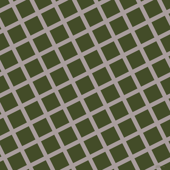 27/117 degree angle diagonal checkered chequered lines, 16 pixel lines width, 57 pixel square size, Nobel and Bronzetone plaid checkered seamless tileable