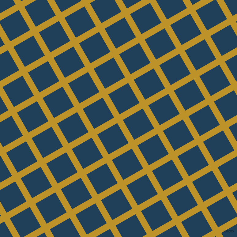 30/120 degree angle diagonal checkered chequered lines, 21 pixel lines width, 75 pixel square size, Nugget and Regal Blue plaid checkered seamless tileable