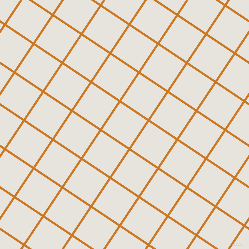 56/146 degree angle diagonal checkered chequered lines, 7 pixel line width, 107 pixel square size, Ochre and Wild Sand plaid checkered seamless tileable