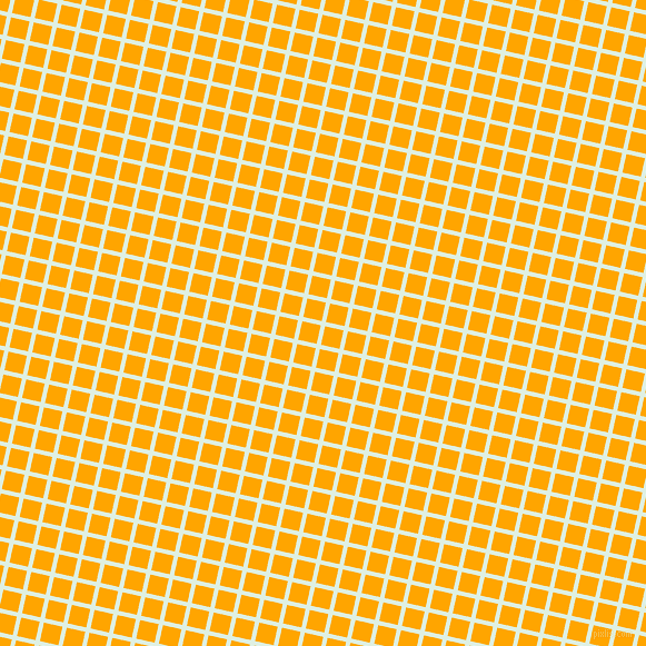 77/167 degree angle diagonal checkered chequered lines, 4 pixel line width, 17 pixel square size, Off Green and Orange plaid checkered seamless tileable