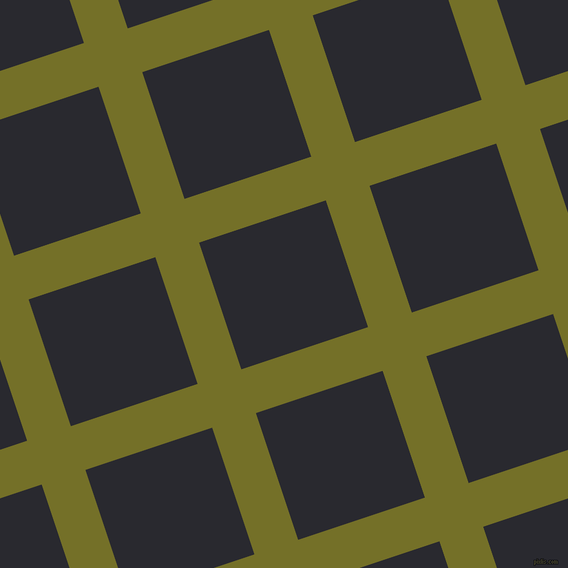 18/108 degree angle diagonal checkered chequered lines, 67 pixel lines width, 194 pixel square size, Olivetone and Jaguar plaid checkered seamless tileable