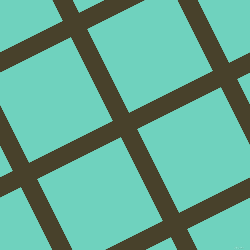 27/117 degree angle diagonal checkered chequered lines, 61 pixel line width, 316 pixel square size, Onion and Downy plaid checkered seamless tileable