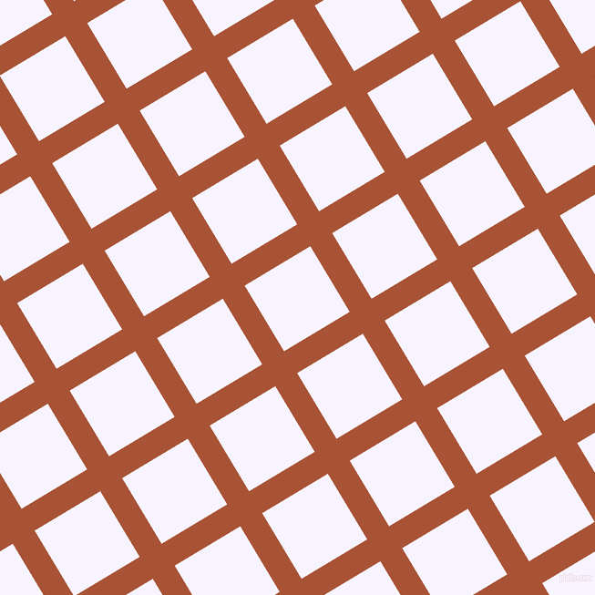 31/121 degree angle diagonal checkered chequered lines, 28 pixel line width, 84 pixel square size, Orange Roughy and Magnolia plaid checkered seamless tileable