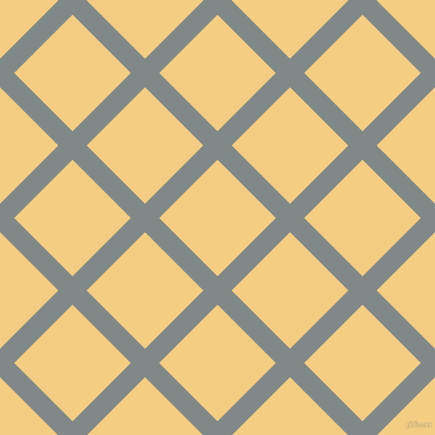 45/135 degree angle diagonal checkered chequered lines, 29 pixel line width, 119 pixel square size, Oslo Grey and Cherokee plaid checkered seamless tileable