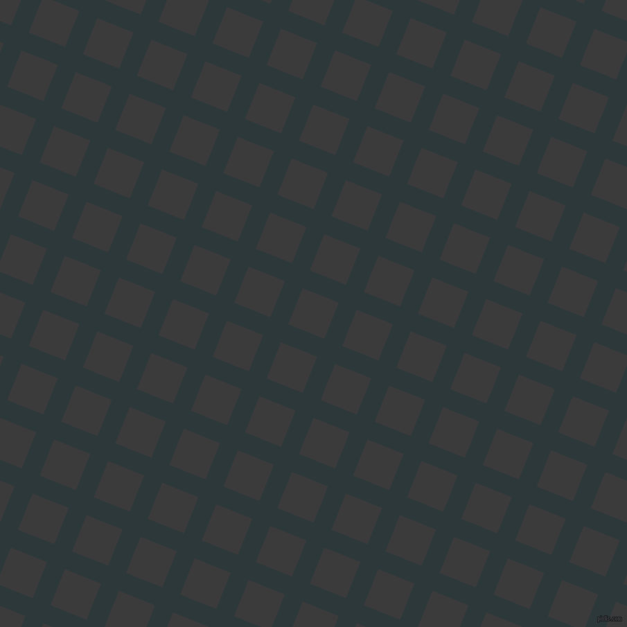 68/158 degree angle diagonal checkered chequered lines, 28 pixel lines width, 56 pixel square size, Outer Space and Fuscous Grey plaid checkered seamless tileable