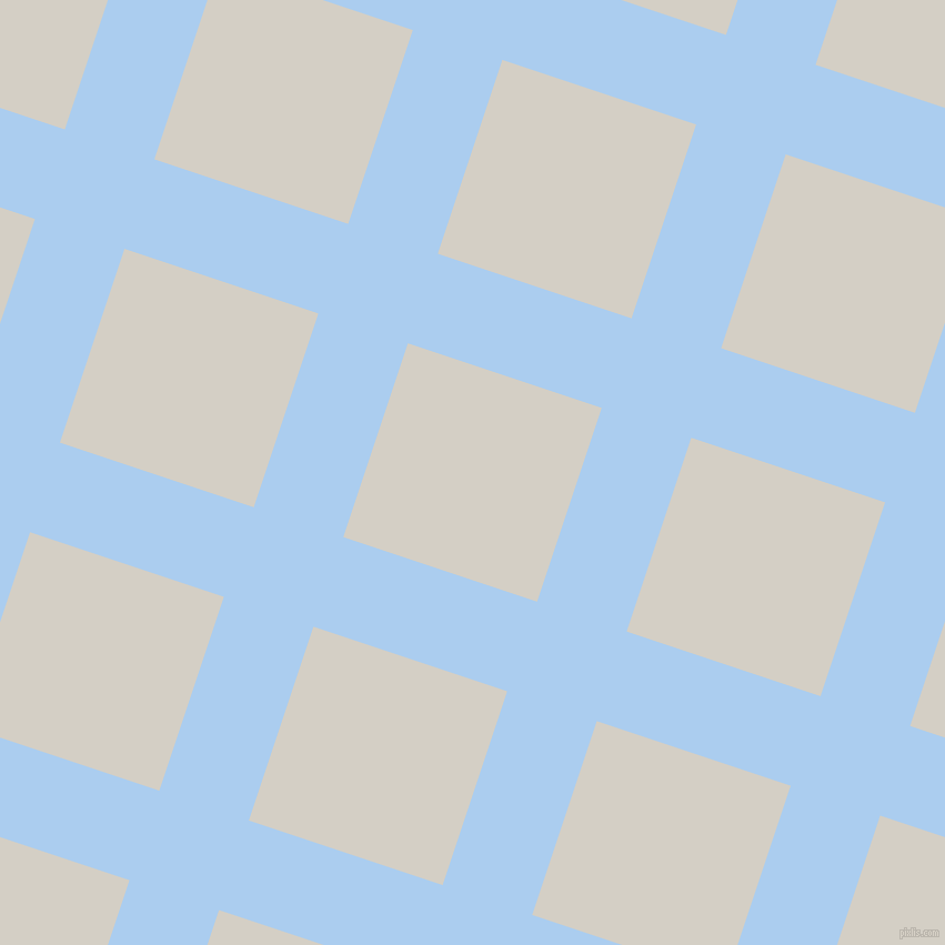 72/162 degree angle diagonal checkered chequered lines, 85 pixel lines width, 184 pixel square size, Pale Cornflower Blue and Westar plaid checkered seamless tileable