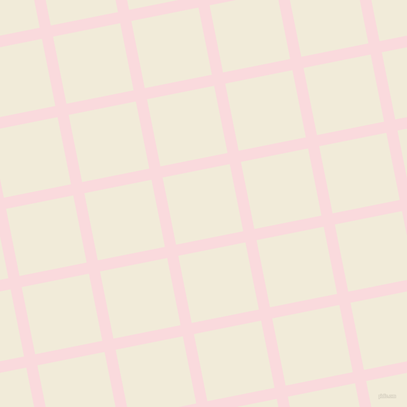 11/101 degree angle diagonal checkered chequered lines, 23 pixel line width, 139 pixel square size, Pale Pink and Orchid White plaid checkered seamless tileable