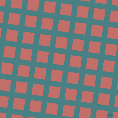 82/172 degree angle diagonal checkered chequered lines, 23 pixel line width, 47 pixel square size, Paradiso and Contessa plaid checkered seamless tileable