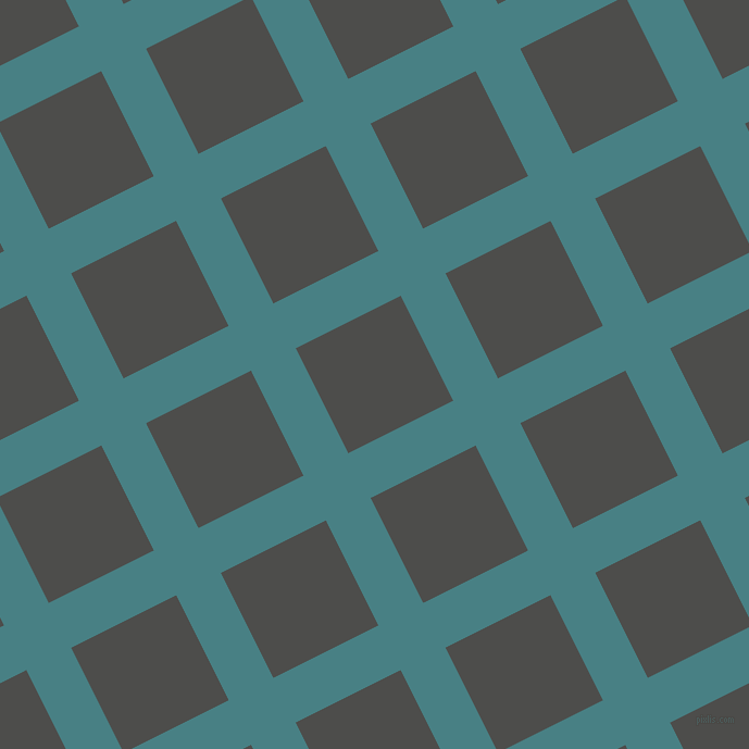 27/117 degree angle diagonal checkered chequered lines, 46 pixel line width, 108 pixel square size, Paradiso and Thunder plaid checkered seamless tileable