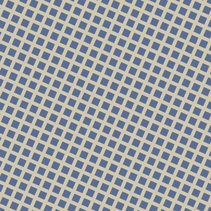 66/156 degree angle diagonal checkered chequered lines, 12 pixel line width, 24 pixel square size, Parchment and Waikawa Grey plaid checkered seamless tileable