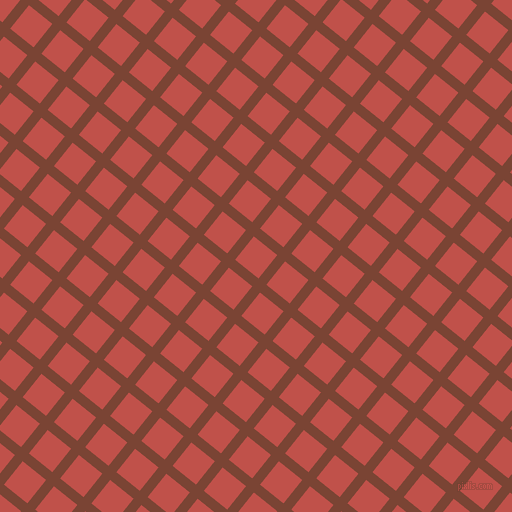 51/141 degree angle diagonal checkered chequered lines, 10 pixel lines width, 30 pixel square size, Peanut and Sunset plaid checkered seamless tileable