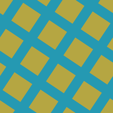56/146 degree angle diagonal checkered chequered lines, 41 pixel lines width, 89 pixel square size, Pelorous and Brass plaid checkered seamless tileable