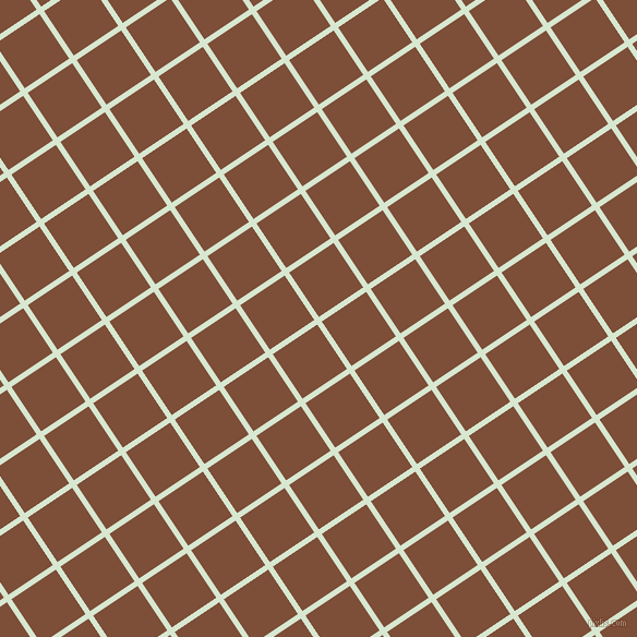 34/124 degree angle diagonal checkered chequered lines, 5 pixel line width, 49 pixel square size, Peppermint and Cigar plaid checkered seamless tileable