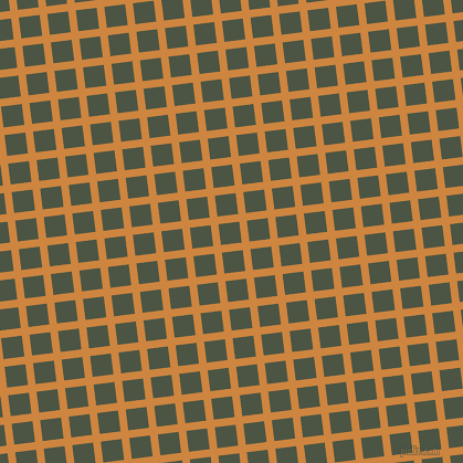 7/97 degree angle diagonal checkered chequered lines, 7 pixel lines width, 19 pixel square size, Peru and Cabbage Pont plaid checkered seamless tileable