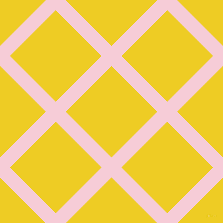 45/135 degree angle diagonal checkered chequered lines, 49 pixel lines width, 225 pixel square size, Pink Lace and Broom plaid checkered seamless tileable