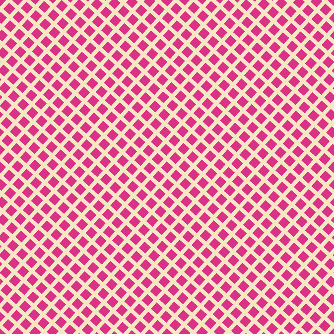 48/138 degree angle diagonal checkered chequered lines, 8 pixel lines width, 17 pixel square size, Pipi and Deep Cerise plaid checkered seamless tileable