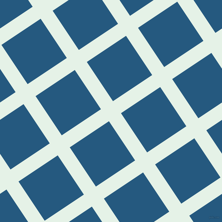 34/124 degree angle diagonal checkered chequered lines, 50 pixel line width, 163 pixel square size, Polar and Bahama Blue plaid checkered seamless tileable