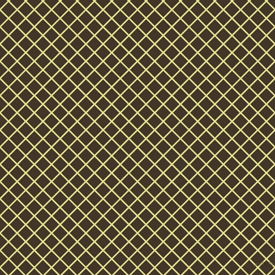 45/135 degree angle diagonal checkered chequered lines, 3 pixel line width, 21 pixel square sizePrimrose and Jacko Bean plaid checkered seamless tileable