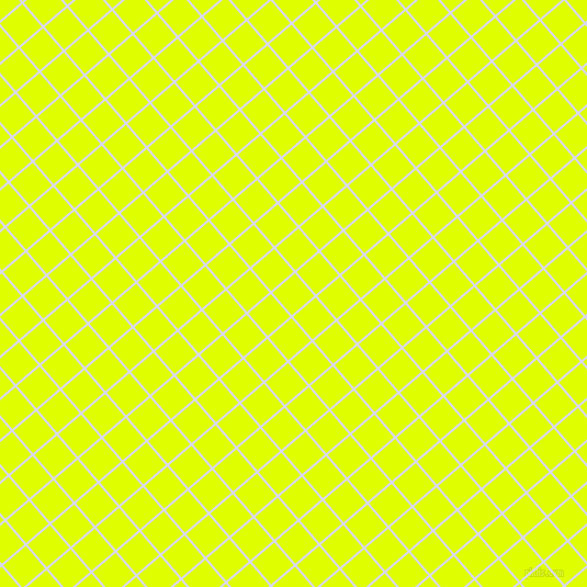 41/131 degree angle diagonal checkered chequered lines, 2 pixel line width, 27 pixel square size, Quartz and Chartreuse Yellow plaid checkered seamless tileable
