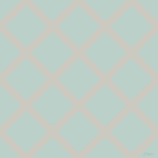 45/135 degree angle diagonal checkered chequered lines, 26 pixel lines width, 105 pixel square size, Quill Grey and Jet Stream plaid checkered seamless tileable