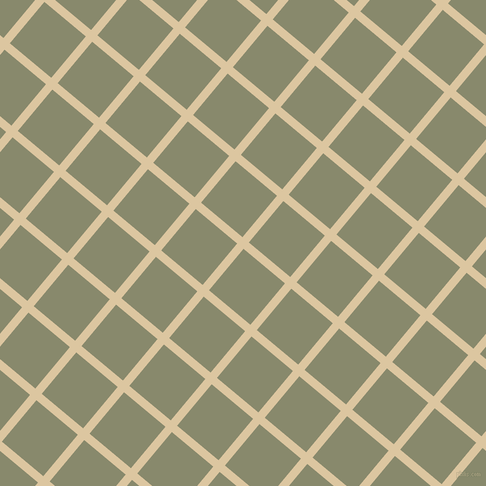 50/140 degree angle diagonal checkered chequered lines, 12 pixel lines width, 78 pixel square size, Raffia and Bitter plaid checkered seamless tileable
