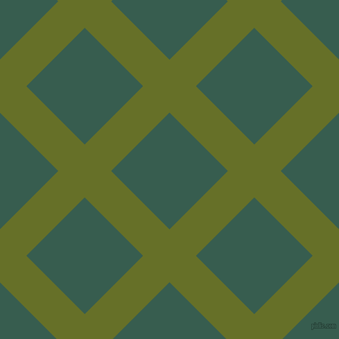 45/135 degree angle diagonal checkered chequered lines, 54 pixel lines width, 119 pixel square size, Rain Forest and Spectra plaid checkered seamless tileable