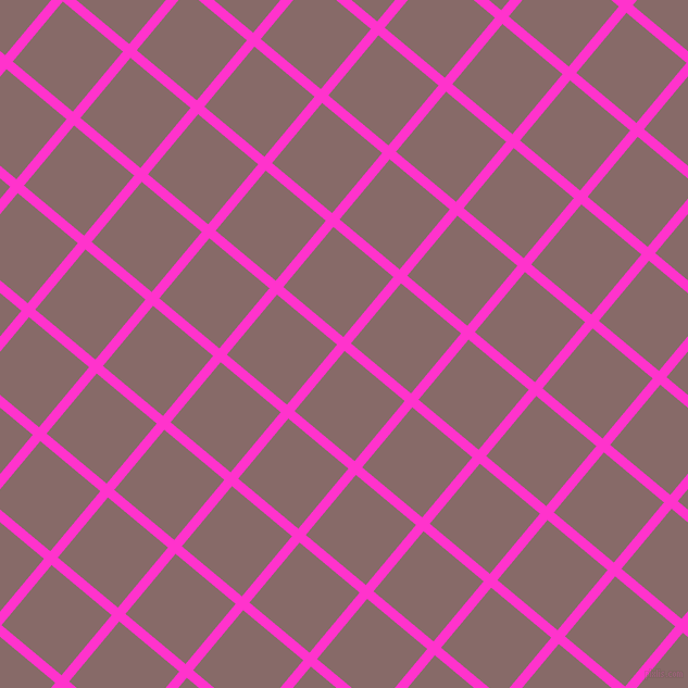 50/140 degree angle diagonal checkered chequered lines, 9 pixel line width, 72 pixel square size, Razzle Dazzle Rose and Ferra plaid checkered seamless tileable
