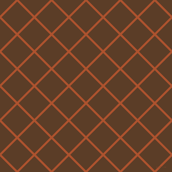 45/135 degree angle diagonal checkered chequered lines, 7 pixel lines width, 76 pixel square size, Red Stage and Bracken plaid checkered seamless tileable