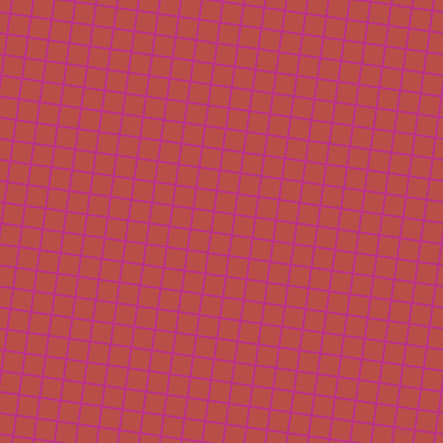 82/172 degree angle diagonal checkered chequered lines, 2 pixel line width, 17 pixel square size, Red Violet and Chestnut plaid checkered seamless tileable