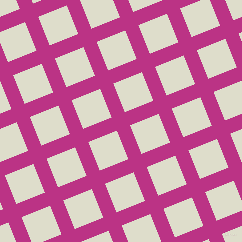 22/112 degree angle diagonal checkered chequered lines, 46 pixel line width, 100 pixel square size, Red Violet and Green White plaid checkered seamless tileable