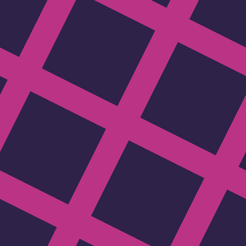 63/153 degree angle diagonal checkered chequered lines, 83 pixel line width, 275 pixel square size, Red Violet and Violent Violet plaid checkered seamless tileable