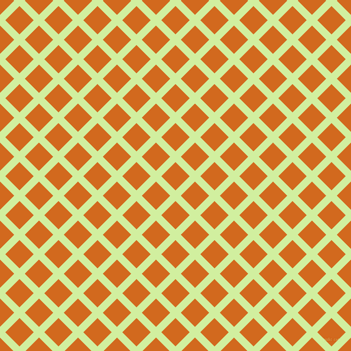 45/135 degree angle diagonal checkered chequered lines, 15 pixel lines width, 40 pixel square size, Reef and Chocolate plaid checkered seamless tileable