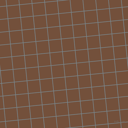 6/96 degree angle diagonal checkered chequered lines, 2 pixel line width, 40 pixel square size, Regent Grey and Old Copper plaid checkered seamless tileable